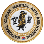 Nation Korean Marital Arts Association Logo